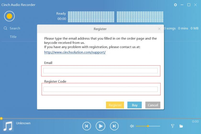 Cinch Audio Recorder 4.0.2 Crack with License Key Free Download 2022